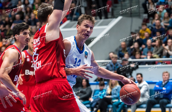Eurocup Basketball. Zenit vs. Bayern