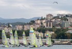 The Russian Olympic class yachts sailing championship
