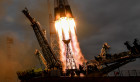 Launch of Soyuz MS-02 manned spacecraft from Soyuz-FG launch vehicle