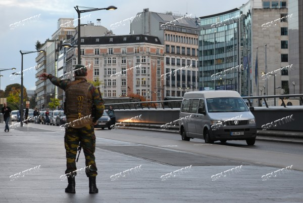 Preparations for EU Summit in Brussels