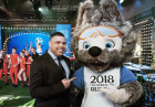 2018 FIFA World Cup mascot unveiled in Moscow