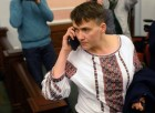 Nadezhda Savchenko arrives in Moscow for appeal hearings on Nikolai Karpyuk and Stanislav Klykh case