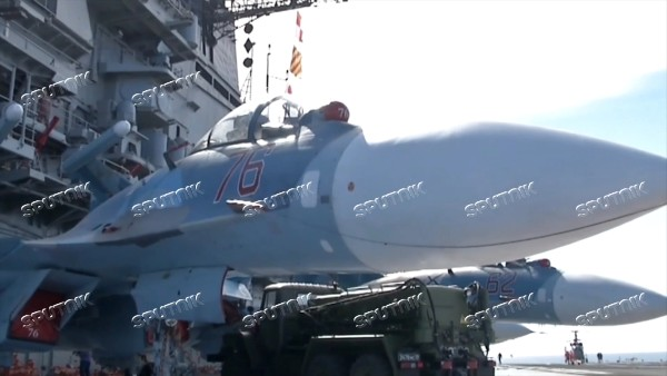 Admiral Kuznetsov aircraft carrier and Admiral Grigorovich patrol ship deployed in Syria for the first time ever