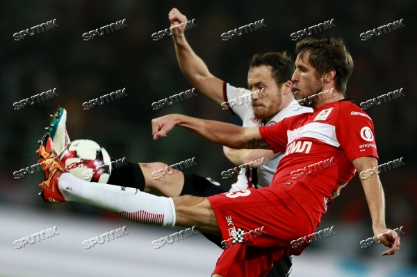 Football. Russian Premier League. Spartak vs. Amkar