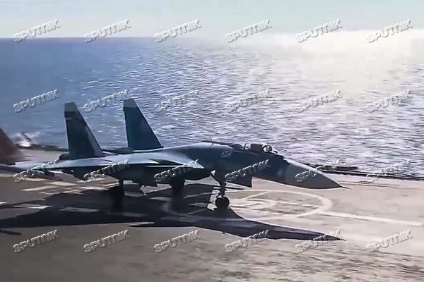 Russian Air Force Tupolev 95M aircraft launch cruise missiles at terrorists in Syria