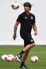 Football. 2017 FIFA Confederations Cup. Training session of Germany's national team