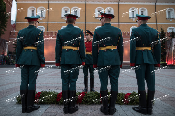 Day of Memory and Grief in Moscow