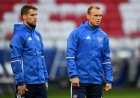 Football. 2017 FIFA Confederations Cup. Training session of Russia's national team