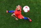 Football. 2017 FIFA Confederations Cup. Chile vs. Australia
