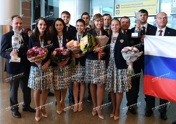 Russian national chess teams return to Moscow