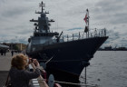 Opening of International Maritime Defence Show in St. Petersburg