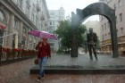 Rain in Moscow