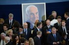 Memorial service for former German Chancellor Helmut Kohl