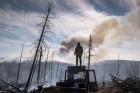Forest fires in Buryatia