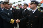 Three Chinese Navy ships arrive in Baltiysk