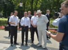 Russian Prime Minister Dmitry Medvedev visits Southern Federal District