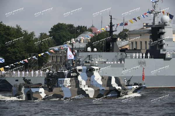Navy Day celebrations in St. Petersburg