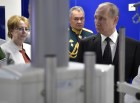 President Putin takes part in Navy Day celebrations