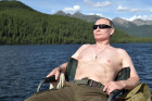 Russian President Vladimir Putin on vacation in Republic of Tyva