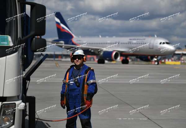 Aircraft at Sheremetyevo Airport