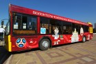 2018 FIFA World Cup branded bus unveiled in Saransk