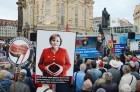 Alternative for Germany movement stages rally against Angela Merkel