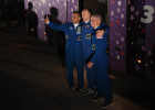 Soyuz-FG space carrier with manned Soyuz MS-06 spaceship launched