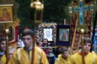 Sixth St. Elizabeth religious procession in Moscow Region