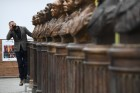 Moscow unveils Alley Of 20th Century Rulers