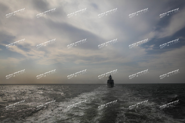 Manuevers of Russian Navy's Caspian Flotilla