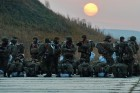 Military exercises in the Primorye Region