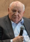 "Mikhail Gorbachev presents his book ""I remain an optimist"" in Moscow House of Books"