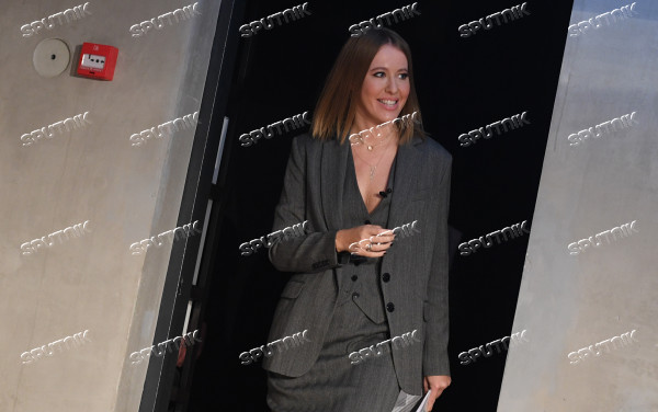 News conference with Ksenia Sobchak