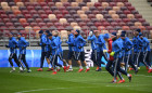 Football. Russian national team training session