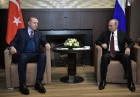 President Vladimir Putin meets with Turkish President Recep Tayyip Erdogan