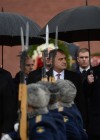 President of South Ossetia Anatoly Bibilov lays flowers at Tomb of Unknown Soldier