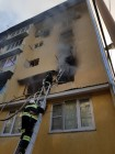 Fire at Sochi dormitory