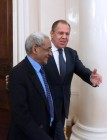 Russian Foreign Minister Sergei Lavrov meets with Republic of Mauritius Foreign Minister Vishnu Lutchmeenaraidoo