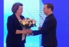 Prime Minister Medvedev attends Diamond Fund's 50th anniversary events