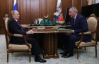 President Putin meets with Deputy Prime Minister Rogozin