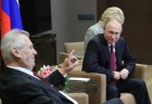 Vladimir Putin meets with Czech Republic President Milos Zeman