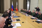 President Vladimir Putin holds meeting with leadership of Defense Ministry and defense sector