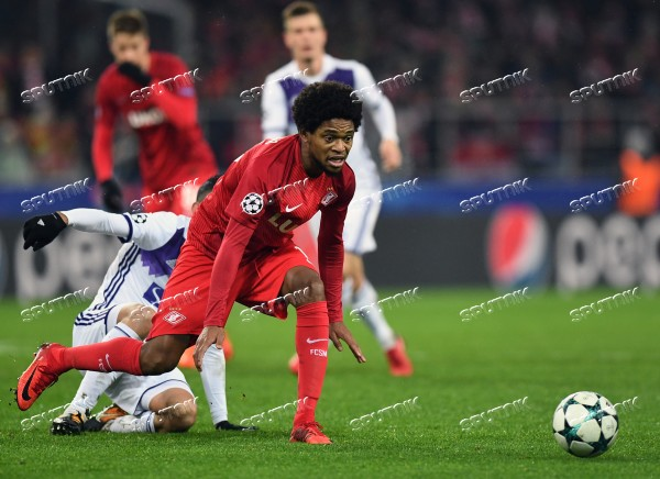 Football. UEFA Champions League. Spartak vs. Maribor