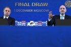 News conference of Gianni Infantino and Vitaly Mutko