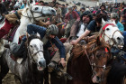 Buzkashi national game
