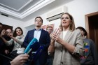 Ksenia Sobchak launches election campaign headquarters in St. Petersburg