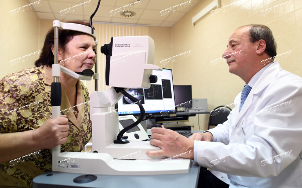 Bionic eye implanted to patient at Russian Otolaryngology