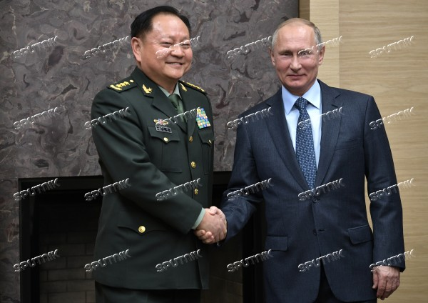 President Putin meets with Vice Chairman of the CPC Central Military Commission Zhang Youxia