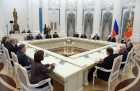 President Putin meets with Russia's Constitutional Court judges