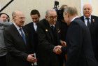 President Putin meets with representatives of the USSR military-industrial complex
